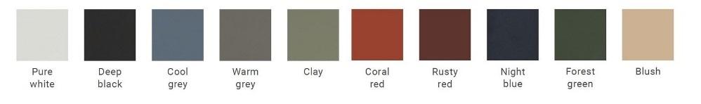 Auping Criade frame kleuren